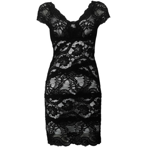 Nicole Miller dress   ❤ liked on Polyvore (see more classic black dresses)