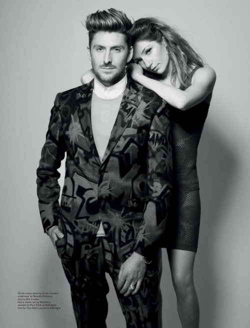 justsoyouknowposts:  Nicola Roberts and Henry Holland