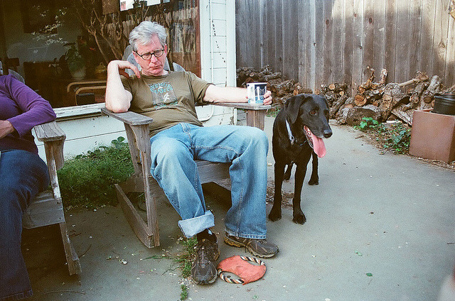 Dad and Lucy on Flickr.