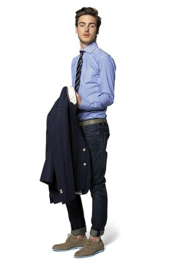 mensfashionworld:  Do Rego & Novoa S/S 2013 lookbook  Jeans with sport jackets are always the best!