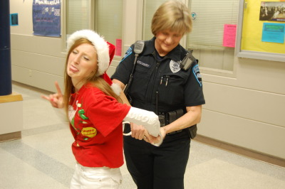 i got arrested for being too hot today