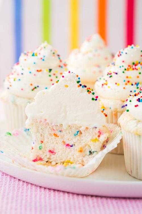 rainbow cupcake recipe | Tumblr
