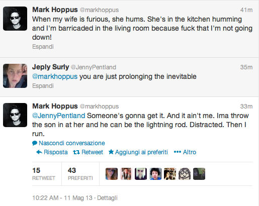 Mark Hoppus on Twitter