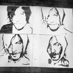 imasweetheartinawfulways:  The many layers of Norman Reedus. #stencil #streetart #stencilart #artist #art #norman #reedus #thewalkingdead #iphone #instaart #instagood #paint #popart #painting #portrait #daryl #dixon #celebrity