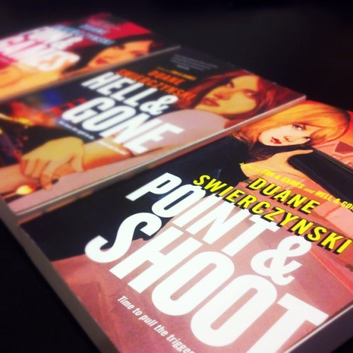 My next read, front and center. #PointAndShoot (CC: @swierczy)