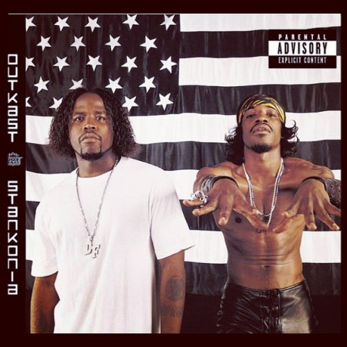 Currently searching for the stankonia flag to complete my home decor.