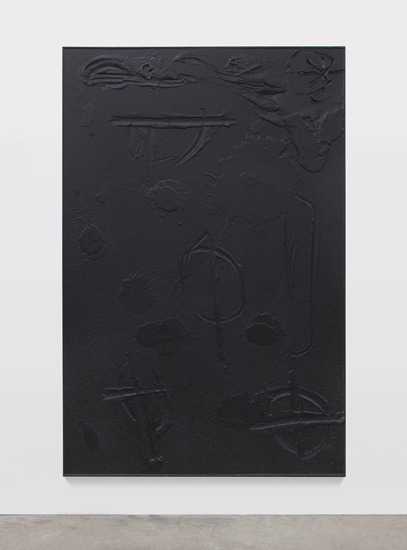 Rashid Johnson (b. 1977)Cosmic Slop, 2011black soap, wax, 72.5 x 49.5 x 1.75 inches