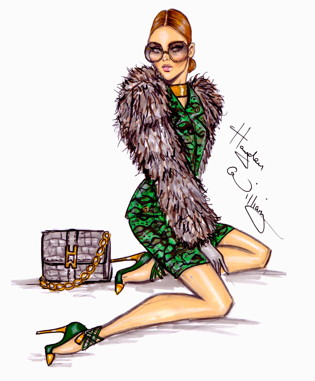 haydenwilliamsillustrations:  'Envied' by Hayden Williams