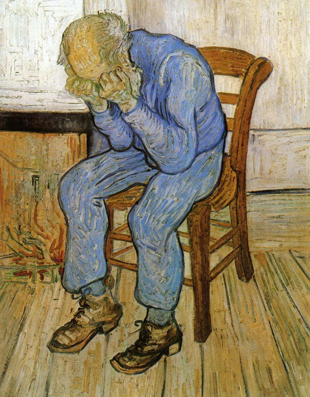 ryandonato:  Vincent van Gogh, Old Man in Sorrow