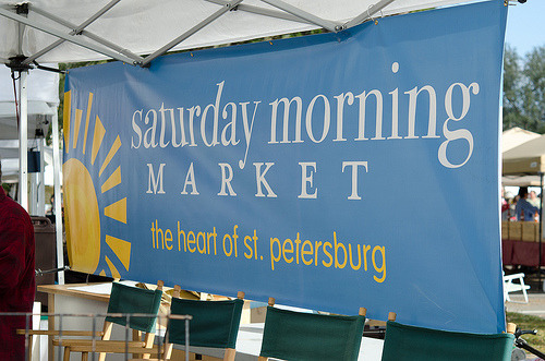 "Florida Farmers Markets: St Petersburg Saturday Morning Market The mission of the market is to be the 'heart' of St. Petersburg - the place, more than anywhere else, that people feel a strong sense of joyful connectedness and creative community. While great food, interesting crafts and lively music are all wonderful elements of the market, this spirit of community is what really defines the market experience. Many customers have shared that they think that the market is the most significant improvement to quality of life ever in St Petersburg.  The market first opened in November 2002, and is now in its 10th season (20011 - 12). The market runs every Saturday from 9 – 2p.m. in downtown St Petersburg The market is located in the Al Lang Field parking lot (the corner of 1st St and 1st Ave S) We're open from early October – late May each year. We recently opened a summer Market which takes place at the Mahaffey Theater parking garage. We've grown to become the largest one-day-a-week fresh market in the Southeast US, with about 8 - 10,000+ customers each week."" Learn more"