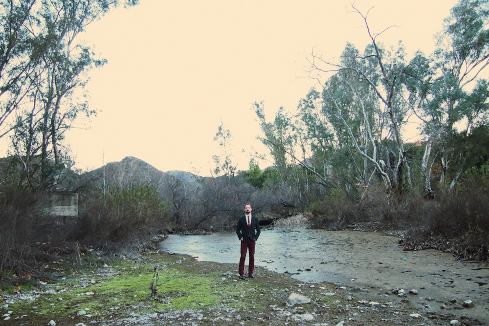 Dan Busta on his birthday.  Topanga Canyon - January 2013 ©Lauren Randolph