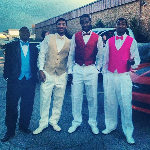 My boys since Day 1 back in 2nd grade, we turnt up! Keyon, Jmac, Brockman, and myself 💯  #Brotherhood