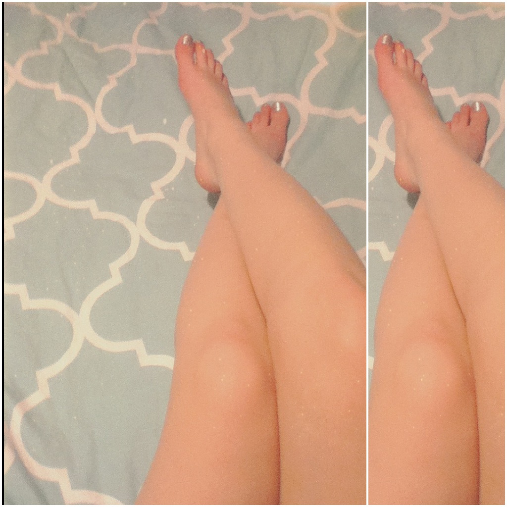 Here. Have my pale, stubby legs