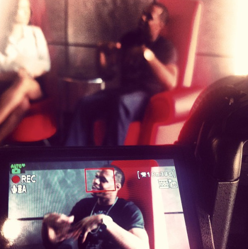 We work 7 days a week! Lenox+Parker interviewing @valholla CEO @vincevalholla #press #publicity