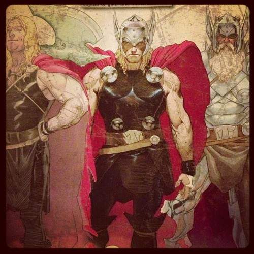 One of my faves of the new Marvel Now books, Thor: God of Thunder. Esad Ribic is tearing it up on art! #comics #thor #marvel