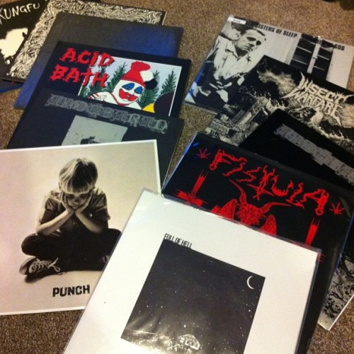 Distro updated with some used and rare stuff - #punch #fistula #fullofhell #acidbath #aldebaran #ssos #kungfurick #sludge #doom #hc - http://www.feastoftentacles.com/distro.html
