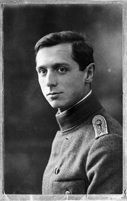 Max Ernst in uniform, c. 1914–1918