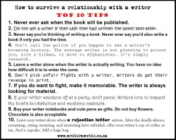 frustratedpen06:  amandaonwriting:  How to survive a relationship with a writer  Fucking thank you.  Yeah, this is familiar.