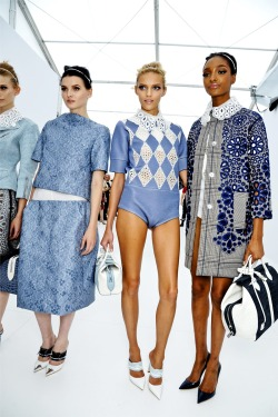 nobackstagepass:  Louis Vuitton Spring 2012  Louis Vuitton. Ur collection beer fail to impress me