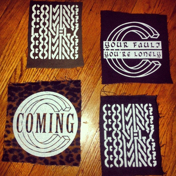 Attn crusties, new merch yo #we_are_coming_ #punkrockartsandcrafts