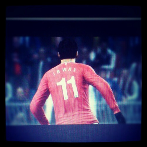 IRWAN 11 #manchesterunited #striker #cf #games #pes2012 #football