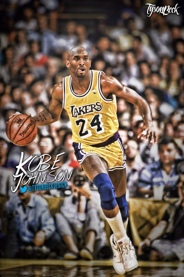KOBE JOHNSON Artwork by Tyson Beck Designs