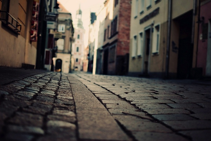 | ♕ |  Centuries-old pavement in Poznan  | by © Erik Witsoe