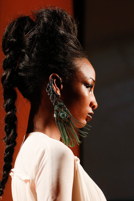 Jean Paul Gaultier Spring/Summer 2013 Couture earrings :)