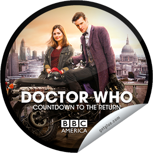 I just unlocked the Doctor Who Countdown to The Return: 0 Days sticker on GetGlue                      8449 others have also unlocked the Doctor Who Countdown to The Return: 0 Days sticker on GetGlue.com                  You're counting down to the return of new episodes of DOCTOR WHO on Saturday March 30 at 8/7c, presented by Supernatural Saturday, only on BBC America. This Spring, the Doctor (Matt Smith) is joined by his new companion Clara (Jenna-Louise Coleman) for the latest set of incredible adventures through space and time. The duo finds new adversaries and familiar friends around every corner as they journey from the bottom of the ocean in a submarine to the center of the TARDIS and beyond. Share this one proudly. It's from our friends at BBC America.