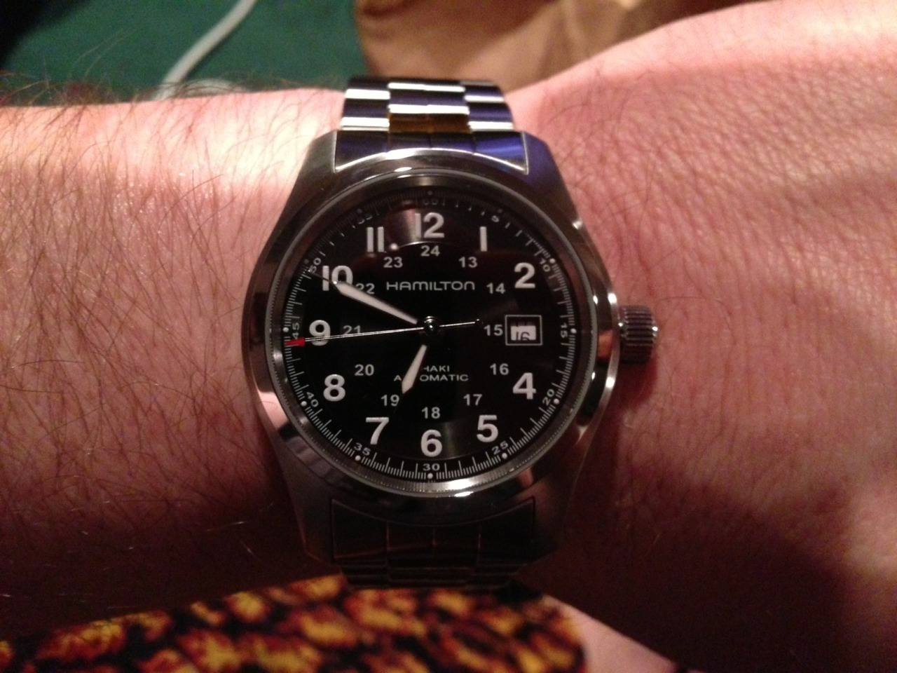 Hamilton watch my incredibly sexy wife bought me for my 40th b-day.
