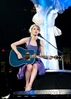 Taylor at the Speak Now tour in Detroit! Just so happened my seats ended up being near this tree where she performed a few songs.