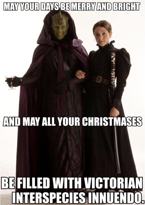 sassygaydoctorwho:  I have no greater holiday wish for you all, my dear followers.