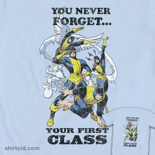 shirtoid:  X-Men You Never Forget by Ninjaink is available at WeLoveFine