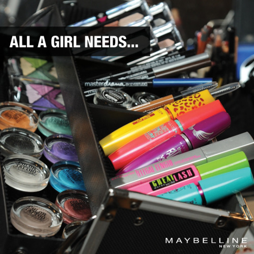 maybelline:  Winter survival kit.
