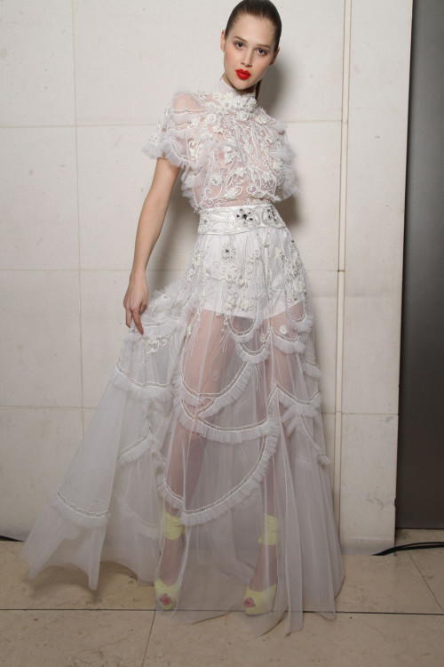 girlannachronism:  Temperley London spring 2012 rtw backstage