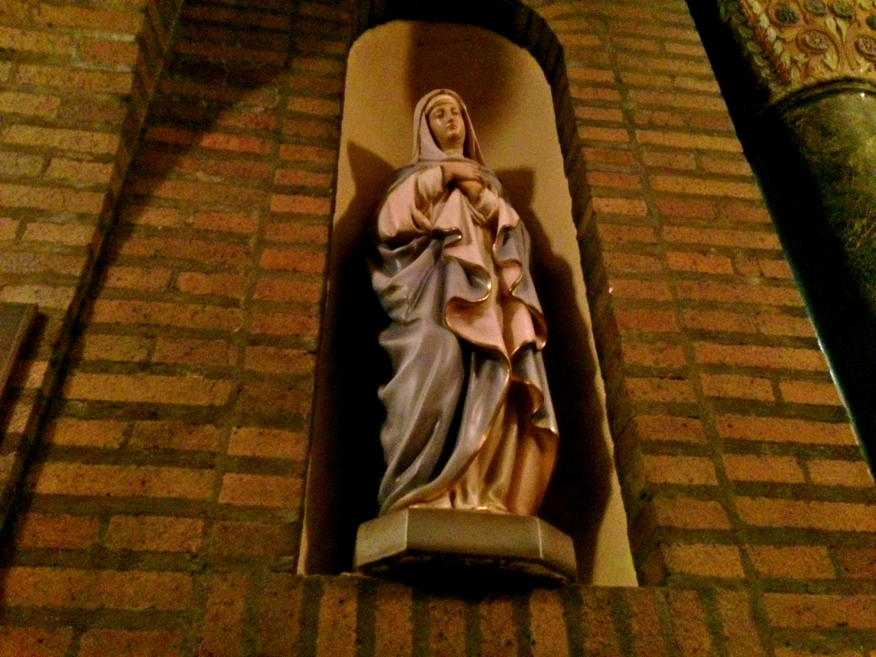 Statue of Our Lady, Saint Casimir Church; Buffalo, NY