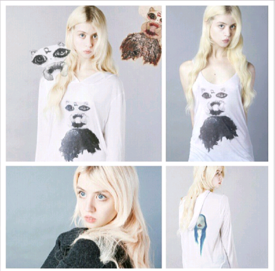 teamallisonharvard:  Allison Harvard little creature clothing project.http://instagram.com/p/ZWs9pfs3vP/