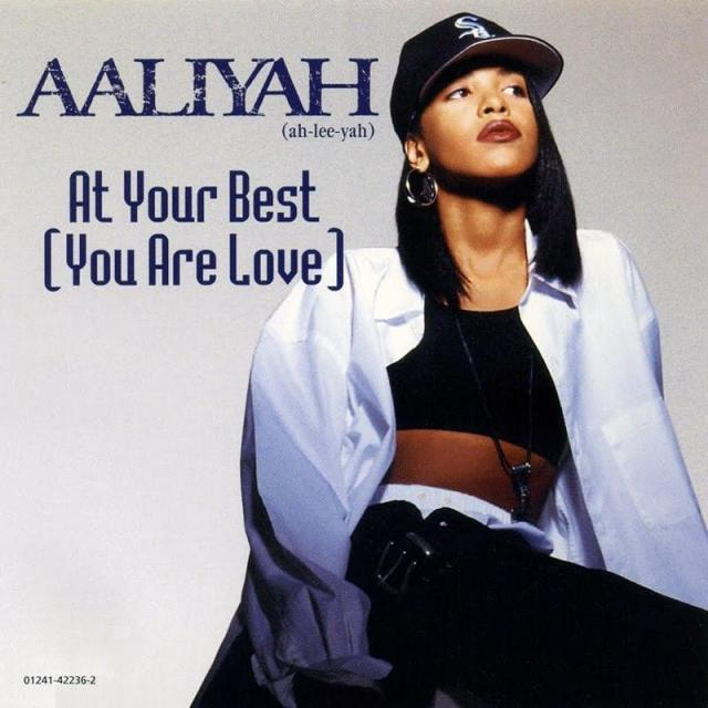 """8/22/94 - The single to """"At Your Best {You Are Love} is released August 22, 1994  under Jive and Blackground Records  The music video was shot back to back with R. Kellys Summer Bunnies and were both smash hits in Fall 1994.The song became a hit based on remix versions Aaliyah cut with R. Kelly featured on the song chanting this is for the steppers and earlier saying, 1-2, check up, baby, lemme know whats up before Aaliyah began singing.Released as Aaliyahs albums second single, it peaked at number six on the US Billboard Hot 100 and number two on the R&B singles chart.   (At Your Best) You Are Love is a song by The Isley Brothers, originally a radio hit in 1976. It was originally dedicated to their mother. #aaliyah#Aaliyah Haughton #Aaliyah Dana Haughton #RIPaaliyah#aaliyah video#ageaintnothingbutanumber #At Your Best You Are Love #jive records#rkelly#90s fashion#90smusic #the isley brothers"""