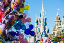 disneyendlessmagic:  Main Street Balloons by Kevin-Davis-Photography on Flickr.