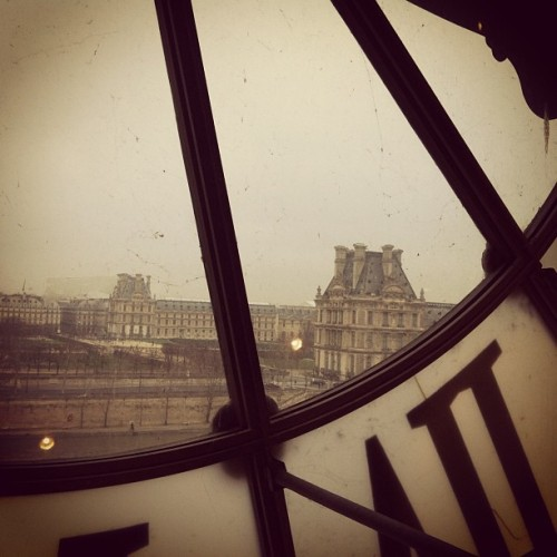 View of the Louvre from Musée d'Orsay.