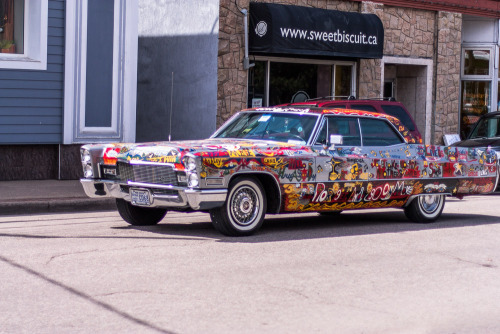 photosbydi:  Someone's Sweet RideSunday in Sydney, Cape Breton  This car would draw a crowd for sure.