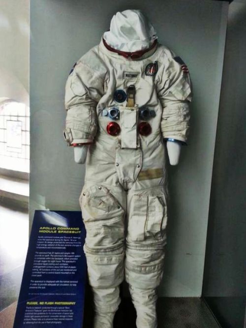 Apollo command module Spacesuit!