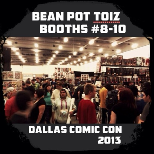 #dallascomiccon is almost over for today, but the show is open tomorrow 10am-5pm ($30, kids 4&under free)…See you nerds there!