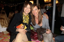 acornerstone:  Catherine Keener and Allison Janney attend City Year Los Angeles' spring break: destination education at Sony Pictures Studios on April 20, 2013 in Culver City, California.