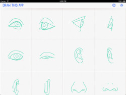 action bar on Draw This App