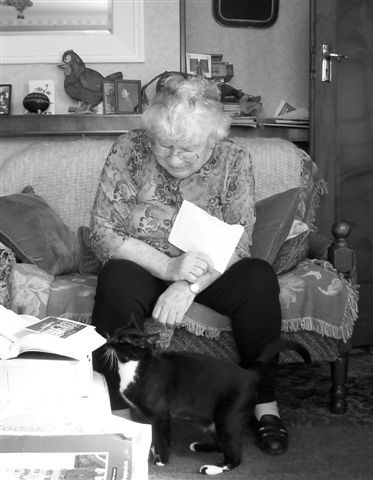 Oh my god, Janet Frame had a similar looking cat to mine. This is a very exciting moment for me! XD