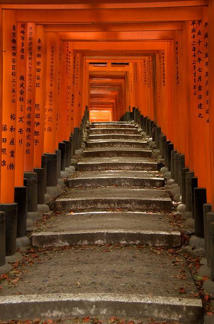 japanesse-life:  Fushimi Inari by Stephen Nesbitt on Flickr.
