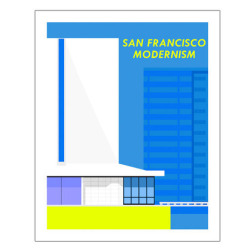 artlog:  A series of prints celebrating the Modernist masterpieces of San Francisco's skyline.