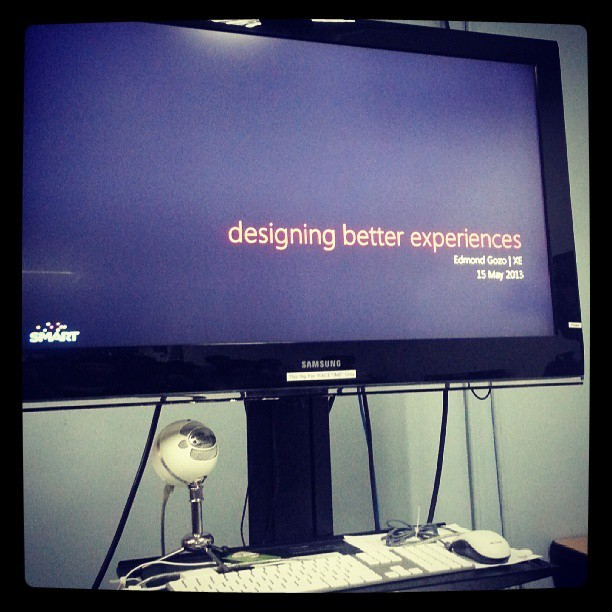 Designing Better Experiences by Edmond Gozo at #miniFFF #PWDO #SMARTDevNet #CustomerExperience