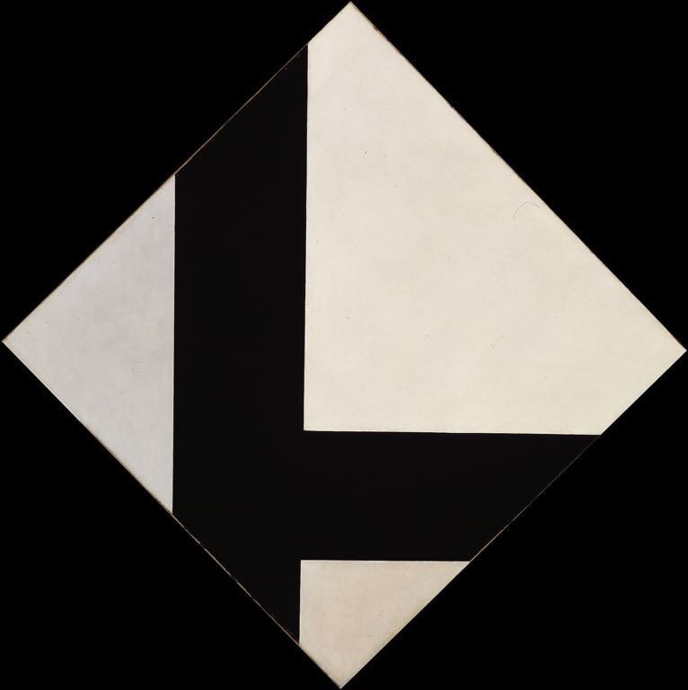 cavetocanvas:  Theo van Doesburg, Counter Composition VIII, 1924